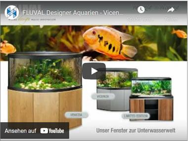 Video Fluval Designer Aquarien