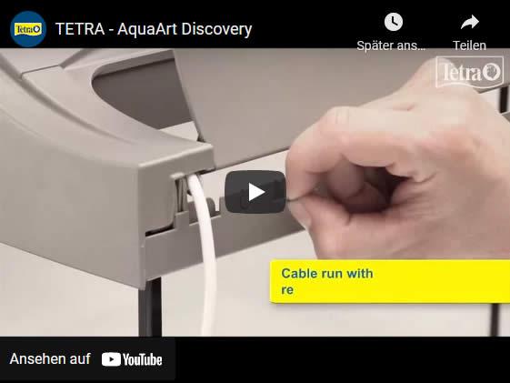 Video AquaArt Discovery Line LED Aquarium-Komplett-Set